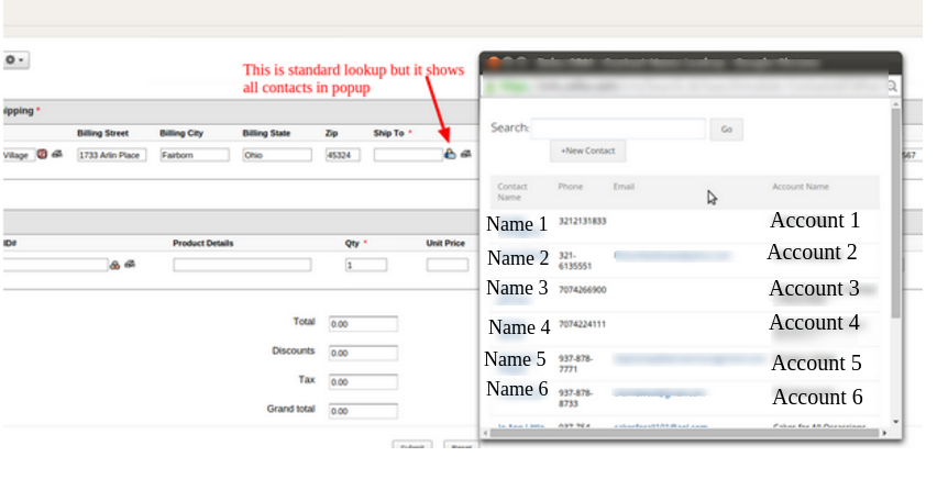 zoho creator | How to Lookup Specific Data from a CRM Module