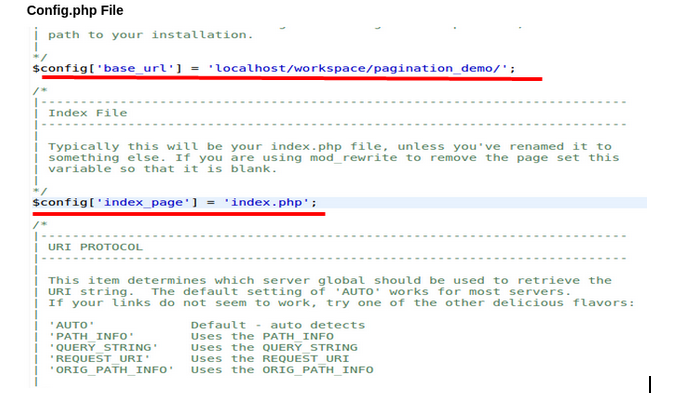 Codeigniter | How to remove index php from URLs