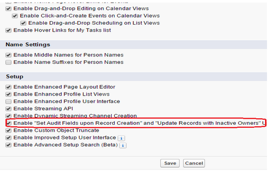Salesforce   How to edit salesforce Created Date and Last