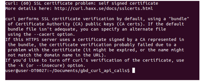 Allowing PHP cURL to access self-signed websites without verifying
