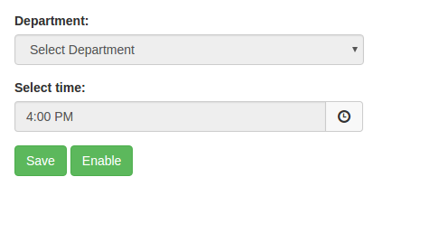 Customize Time Picker from Bootstrap Time Picker Plugin to