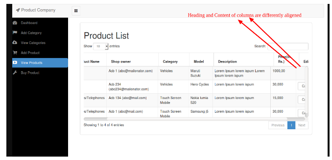 Alternative Solution for Adding Horizontal Scrollbar to jQuery Datatable