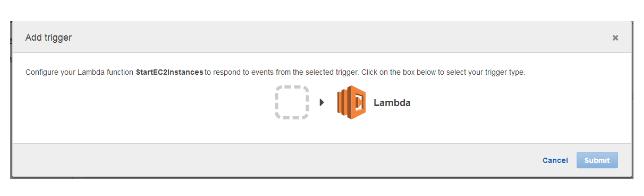 AWS | How to start/stop Amazon EC2 server using Lambda Services