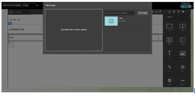Adding Image Upload feature in GrapesJS editor