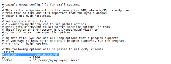 Mysql access denied error for user root@localhost in XAMPP
