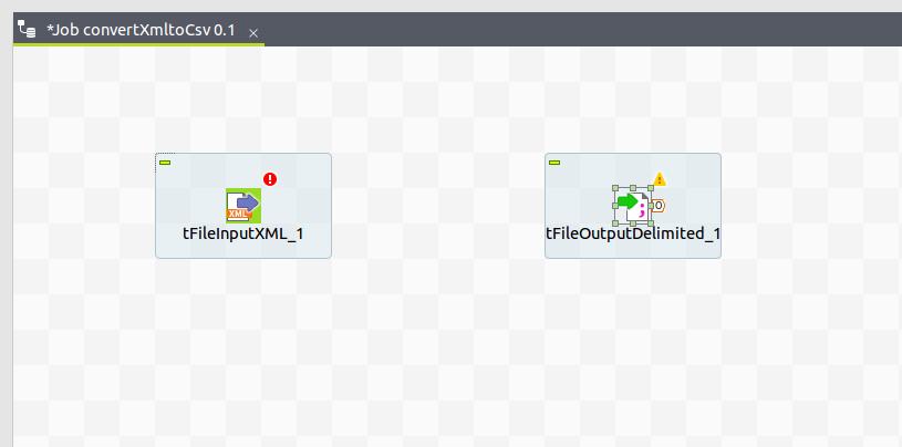 Converting XML file to CSV in Talend Open Studio