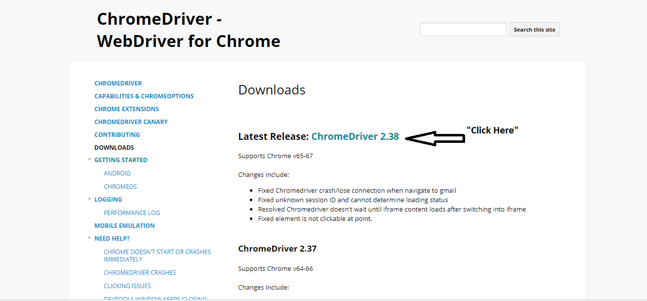 Introduction to ChromeDriver for Selenium with Example Webner ...