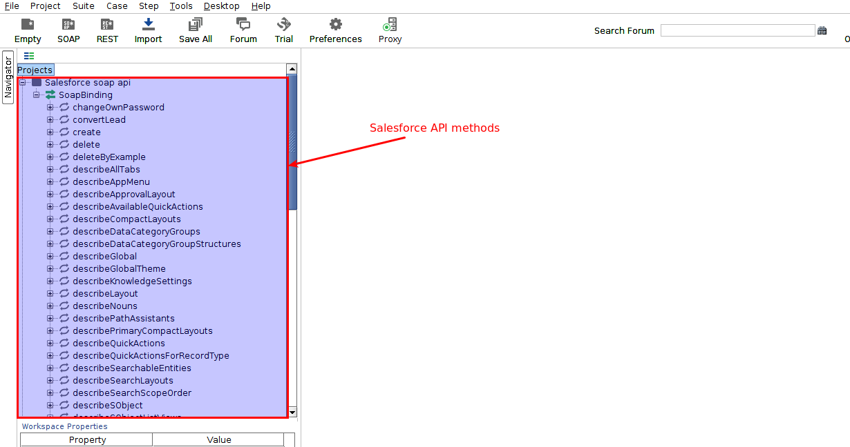 Salesforce WSDL Api login