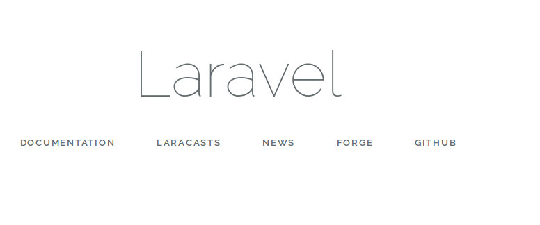 Laravel Configuration