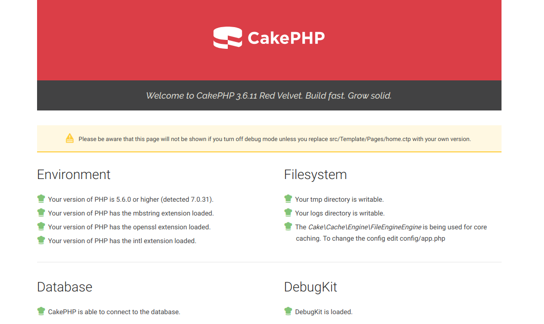 CakePHP 3.6 in a Subfolder of WordPress