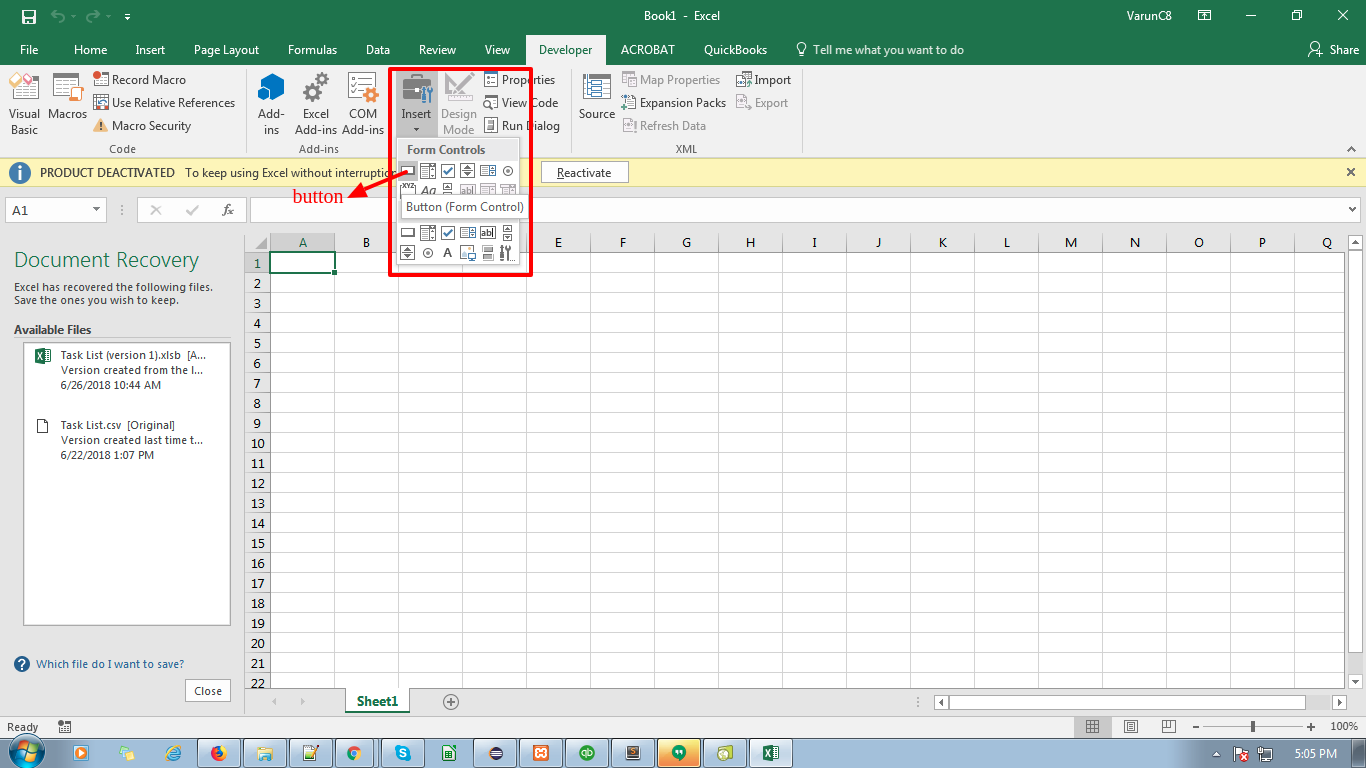 Use VBA Script in Excel