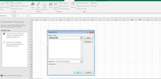 Use VBA Script in Excel