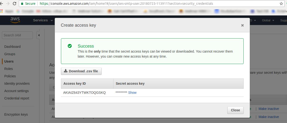 Send Bulk Emails Using Amazon SES