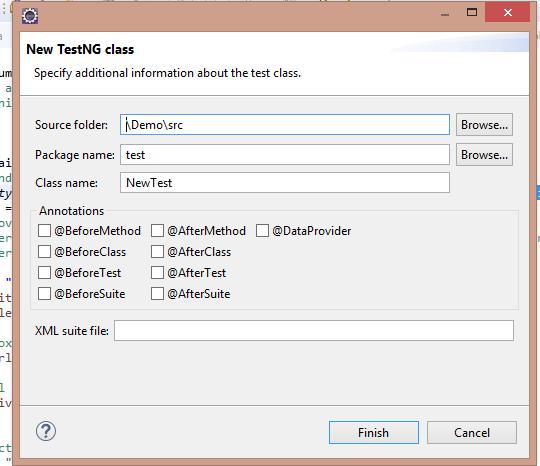 install TestNG framework in Eclipse for Selenium Webdriver